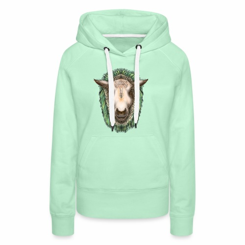 Zed The Sheep by Jon Ball - Women's Premium Hoodie