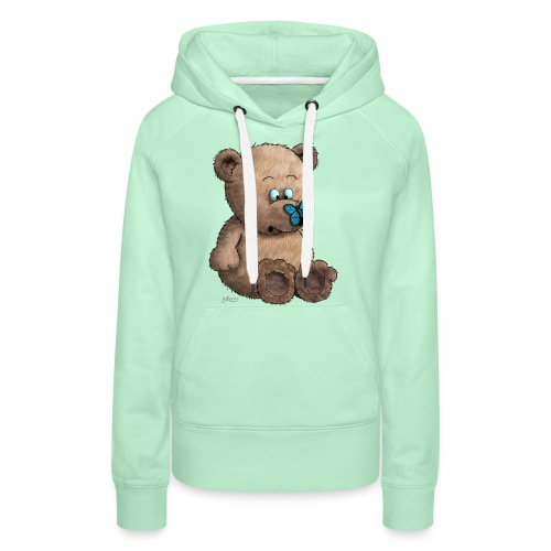 Teddybär - Frauen Premium Hoodie