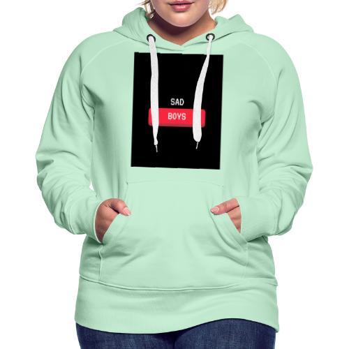 Sad Boys Video Game Pop Culture T - shirt - Sudadera con capucha premium para mujer