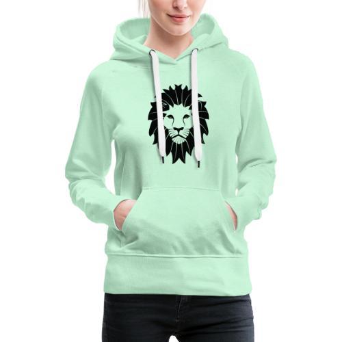 LIYON BLACK - Frauen Premium Hoodie