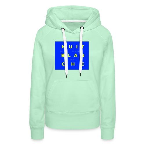 20181201 160215 0001 - Sweat-shirt à capuche Premium pour femmes