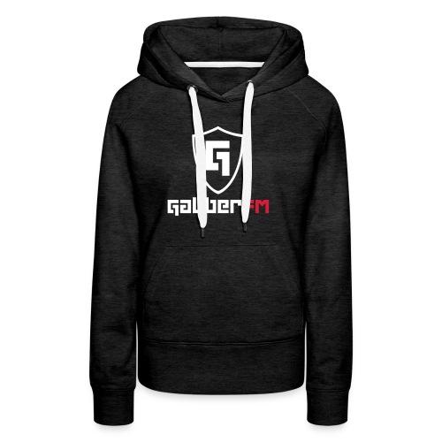 Gabber FM Logo Letters - Women's Premium Hoodie