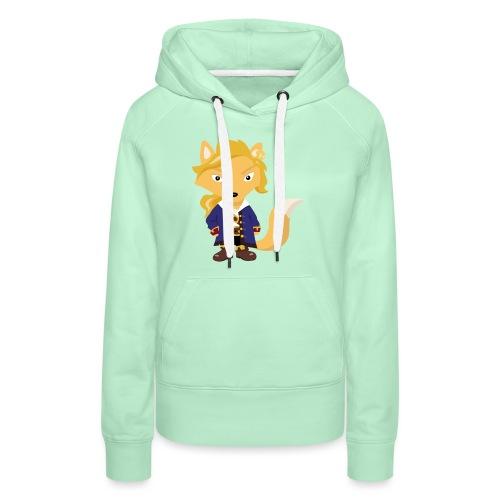 Renard Guybrush - Sweat-shirt à capuche Premium pour femmes