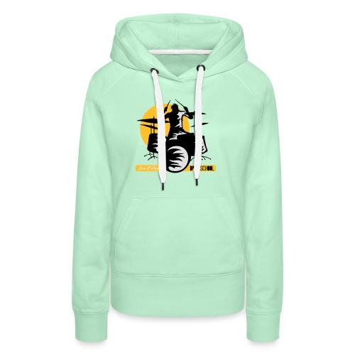 logo ivo Elfers drummer - Vrouwen Premium hoodie