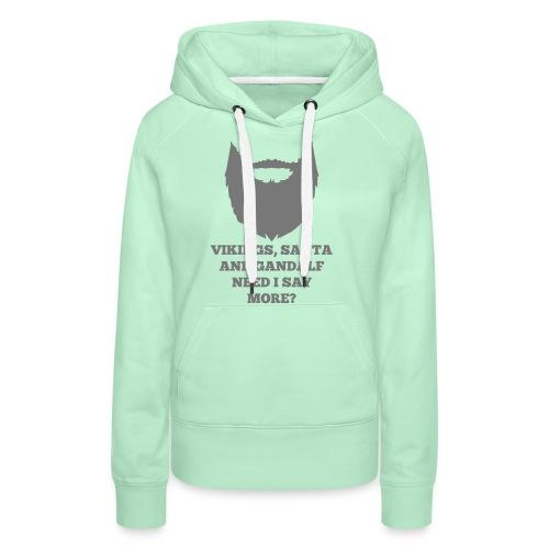 Viking Santa Gandalf - Vrouwen Premium hoodie