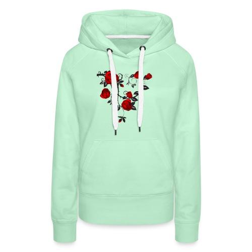 Rosenranken - Frauen Premium Hoodie