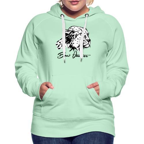 Bow Hunter Gepard 2 färbig - Frauen Premium Hoodie