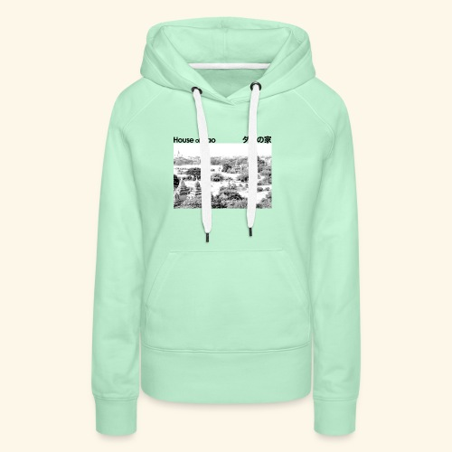 House of Dao - Temple BW - Frauen Premium Hoodie