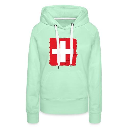 Schweiz 21.1 - Frauen Premium Hoodie