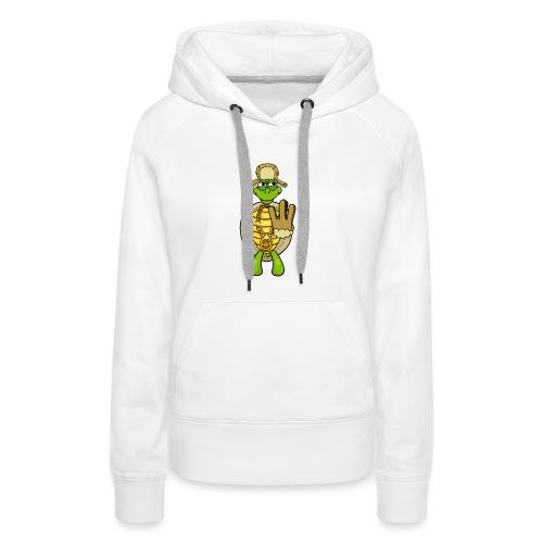 Winter West Coast Schildkröte / Hip-Hop Turtle - Frauen Premium Hoodie