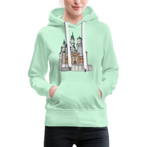 Schloss Neuschwanstein c - Frauen Premium Hoodie