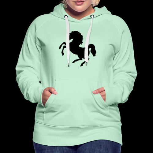 Black is beauty - Frauen Premium Hoodie