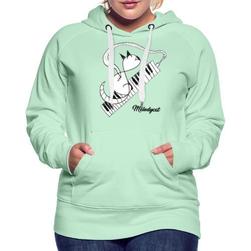 Melodycat - Sweat-shirt à capuche Premium pour femmes