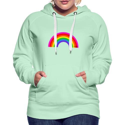 Rainbow - Naisten premium-huppari