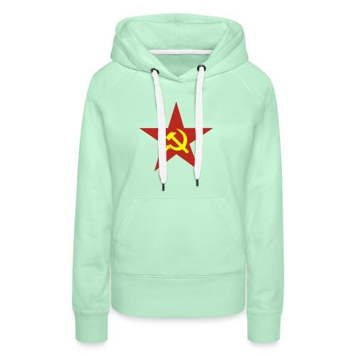 Russenstern - Frauen Premium Hoodie