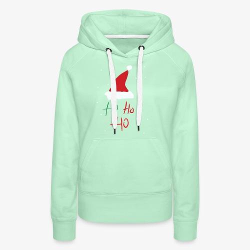 hohoho - Sweat-shirt à capuche Premium pour femmes