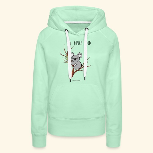 koala's tree - Sweat-shirt à capuche Premium pour femmes
