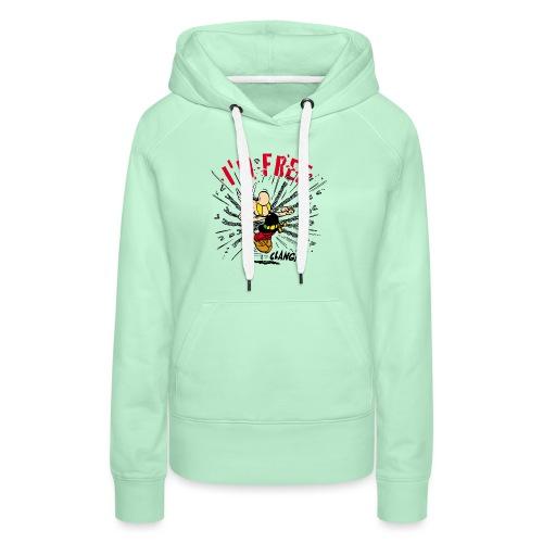 Asterix & Obelix - Asterix 'I'm Free' - Sweat-shirt à capuche Premium pour femmes