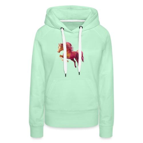 Cory the Pony - Frauen Premium Hoodie