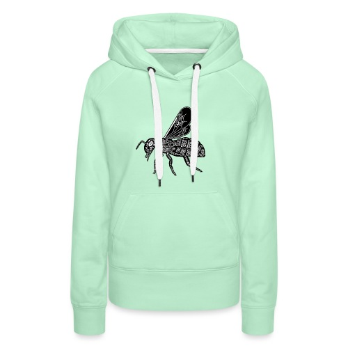 Skelett Biene - Vrouwen Premium hoodie