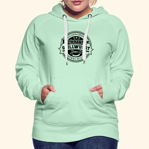Grill T Shirt Projektleiter Grillwurst - Frauen Premium Hoodie