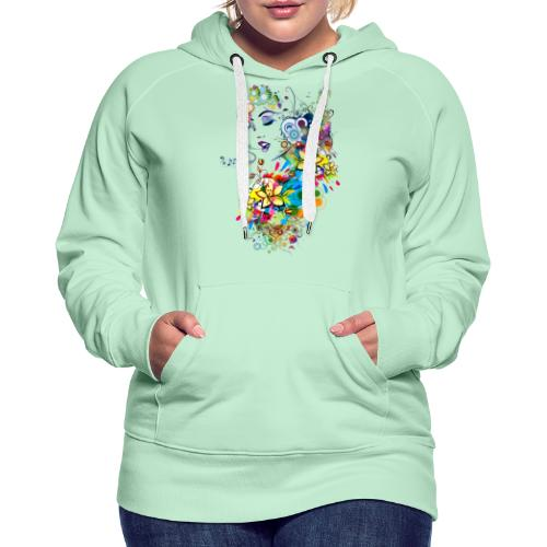 Lady singer - Sweat-shirt à capuche Premium pour femmes
