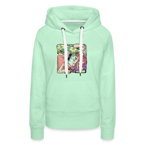 Student Girl Box Housing. T-shirts, Hoodies, Gifts - Naisten premium-huppari