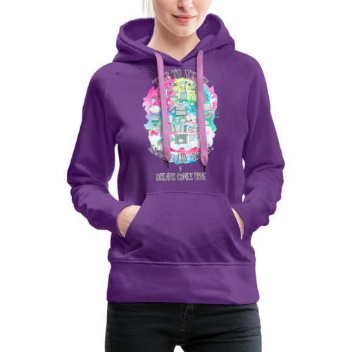 Time to Hygge - Sweat-shirt à capuche Premium pour femmes