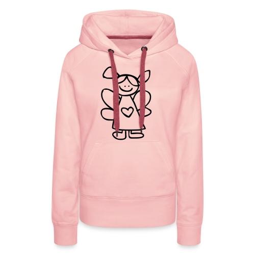 belinda's engeltje - Vrouwen Premium hoodie