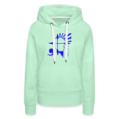 Deus Rebels - Sweat-shirt à capuche Premium pour femmes