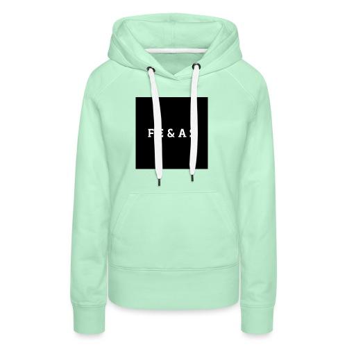 FEAS WHITE T-SHIRT - Vrouwen Premium hoodie