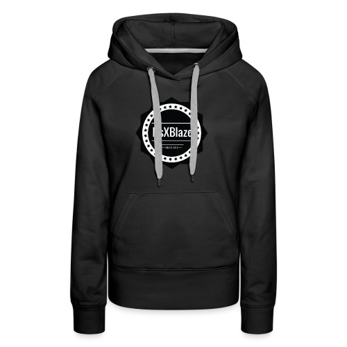 ItsXBlaze Logo 2 Hoodie - Vrouwen Premium hoodie