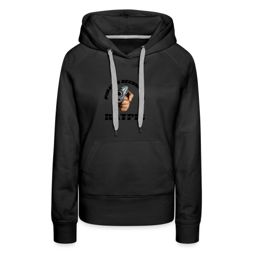 pirate reconnait Ratpis - Sweat-shirt à capuche Premium pour femmes