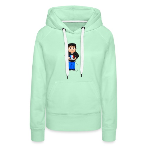 MaximeGaming - Sweat-shirt à capuche Premium pour femmes