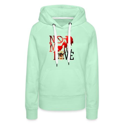 get no love - Women's Premium Hoodie