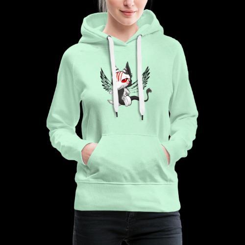Démon Wolfire - Sweat-shirt à capuche Premium pour femmes
