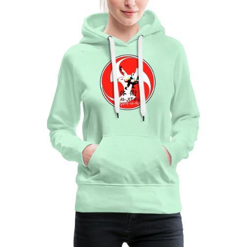 TBK mitsu tomoe - Sweat-shirt à capuche Premium pour femmes