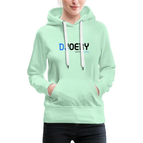 logo transparentbg blacktext - Vrouwen Premium hoodie