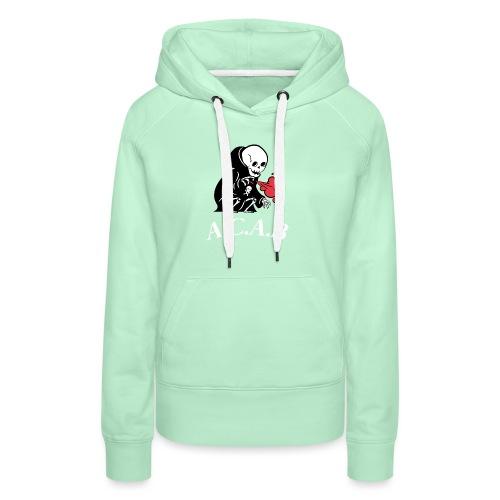 A.C.A.B la mort - Sweat-shirt à capuche Premium pour femmes