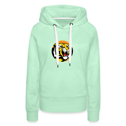 Tigers Together afl logo - Women's Premium Hoodie