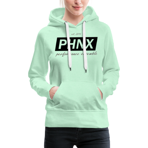 PHNX /#black/ - Frauen Premium Hoodie