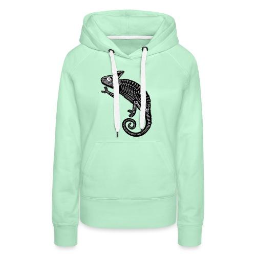 Chameleon Skeleton - Vrouwen Premium hoodie