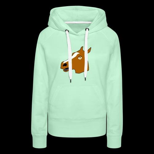 PaardenKOP - Vrouwen Premium hoodie