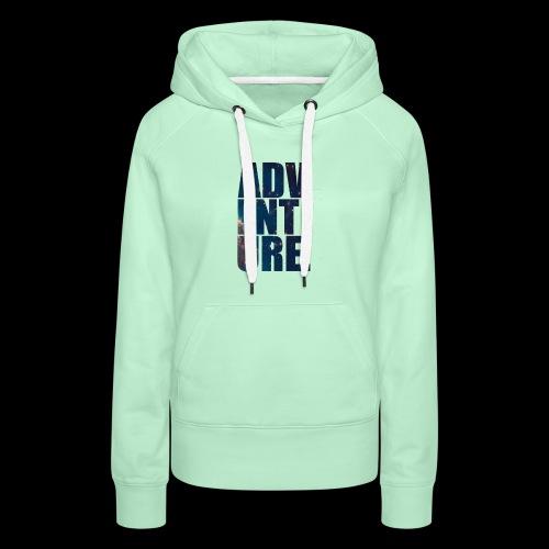 Adventure T-Shirt - Premium hettegenser for kvinner