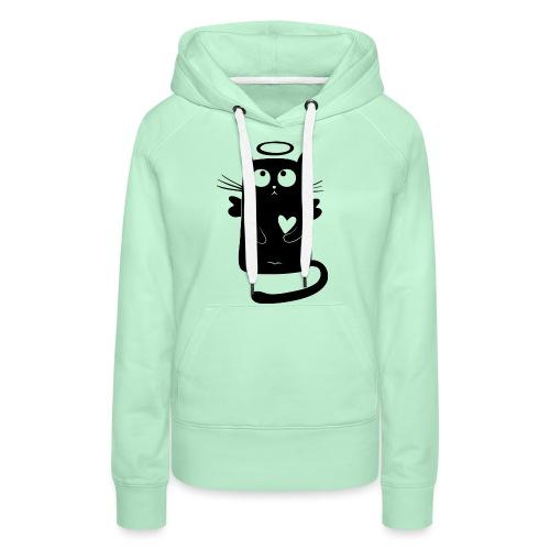Black Cat Isle - Women's Premium Hoodie