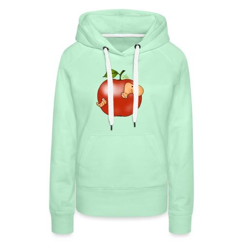 Apfelwurm im Royal Tenroy - Frauen Premium Hoodie