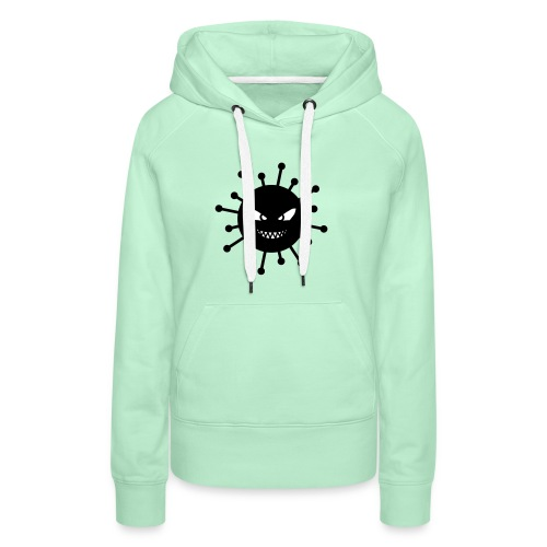 coronavirus covid 19 - Sweat-shirt à capuche Premium pour femmes