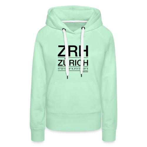 ZRH - Frauen Premium Hoodie