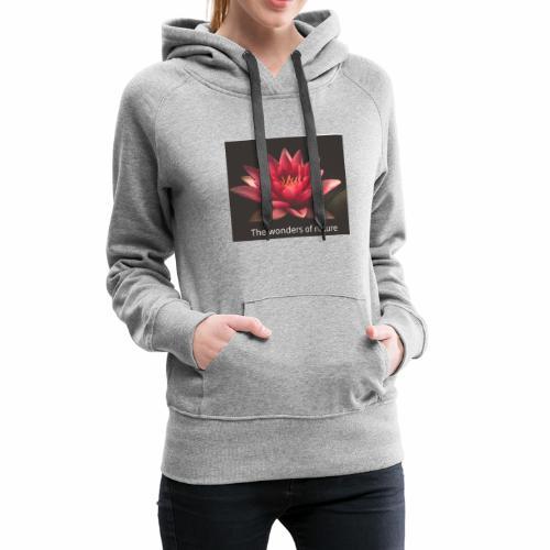 Lotus ny - Premium hettegenser for kvinner