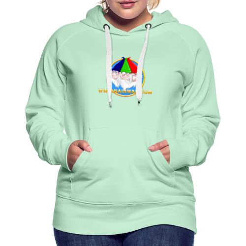 Nainwak - Sweat-shirt à capuche Premium pour femmes